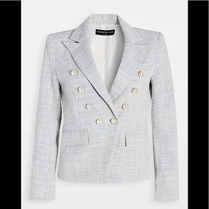 NWT GENERATION LOVE 'Abby' Tweed Blazer Jacket XL